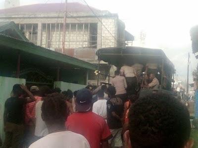 Breaking News: Peringati 1 Mei, Kegiatan Mimbar Bebas KNPB Sentani Dibubarkan Paksa dan Sejumlah Aktivis Ditangkap