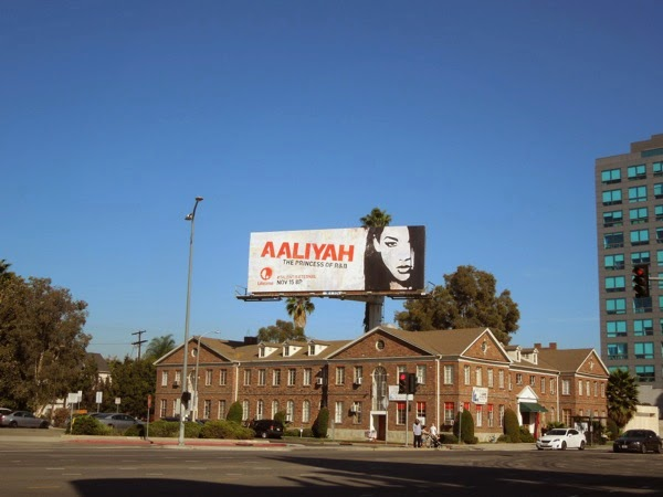 Aaliyah billboard