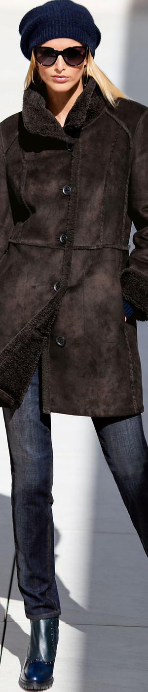 Madeleine Brown Coat