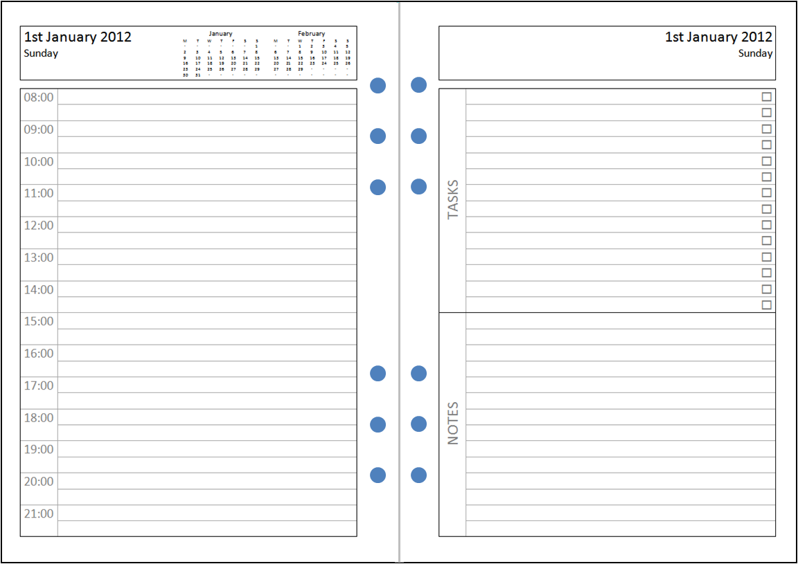 4e7451380 excel diary. my life all in one place my perfect a4 a5 diary layout .