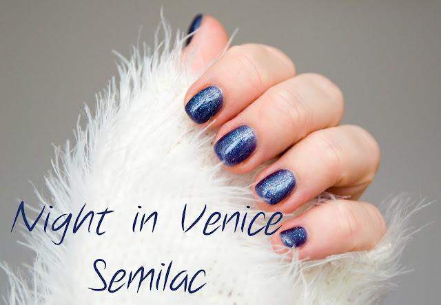 Lakier hybrydowy Semilac 095 Night In Venice