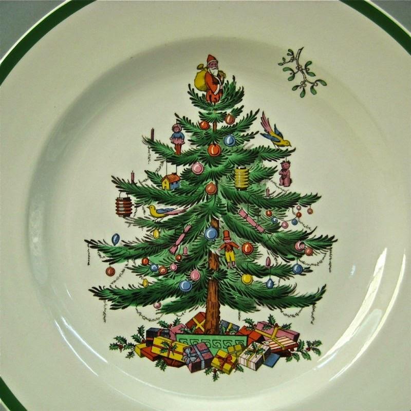 Spode Christmas Tree History: Spode History: Spode And Christmas Patterns