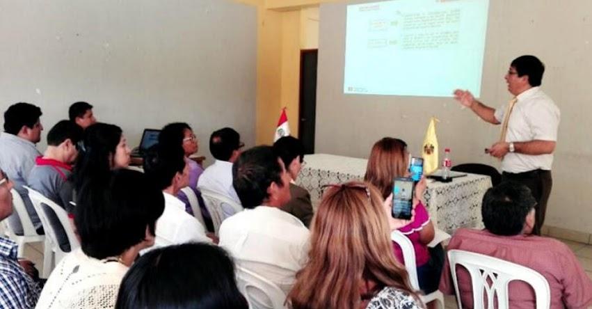 DRELM capacita a funcionarios de Lima Norte sobre proyectos de inversión en infraestructura educativa - www.drelm.gob.pe
