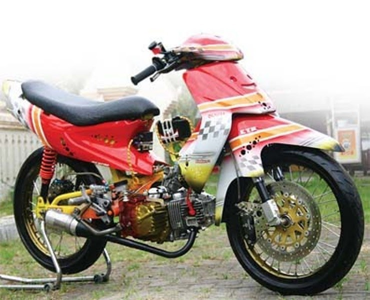 TABLOID MOTOR: Modifikasi Smash 2003 Mantap Brow