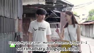 Sinopsis My Dear Loser: Monster Romance Episode 3 - 2