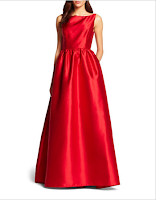 Prom Dress the Night Adrianna Papell Sleeveless Long Ball Gown