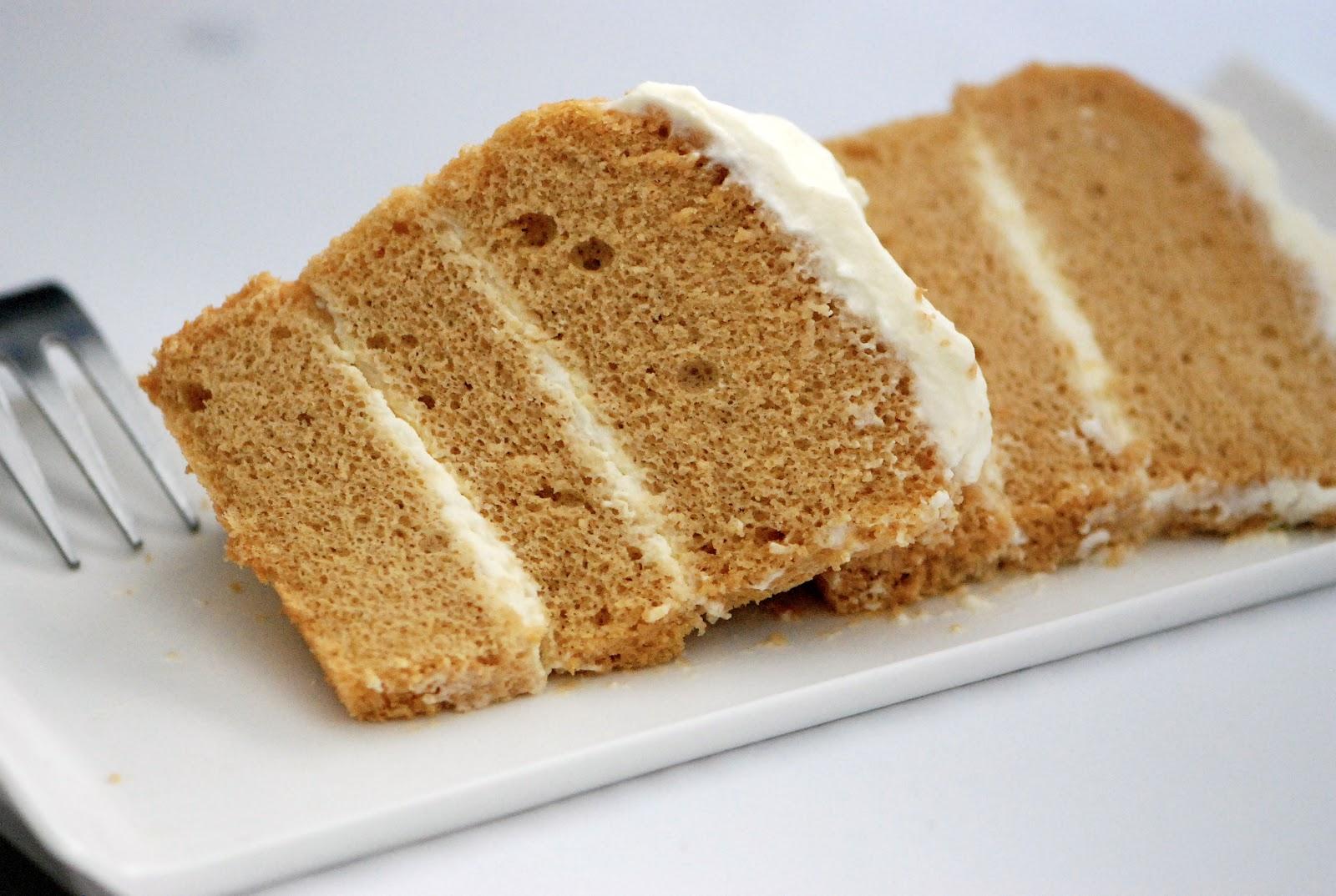Soya Bean Chiffon Cake Recipe