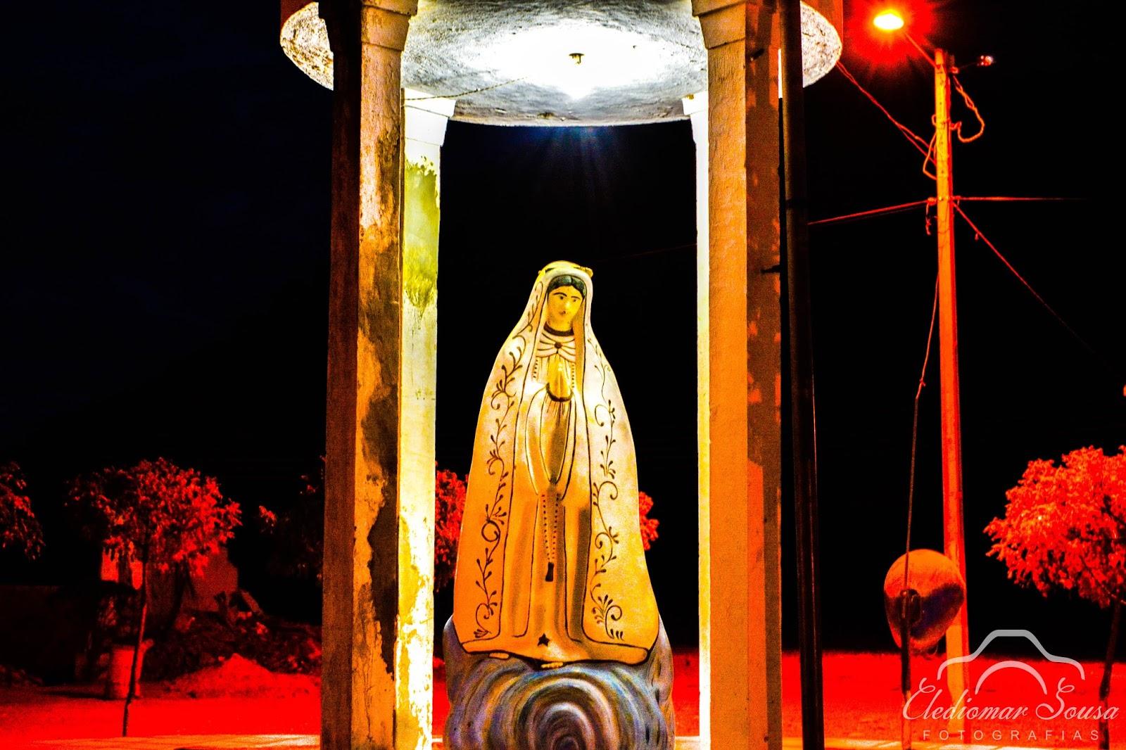 Imagem de Nossa Senhora de Fátima - Bairro Acampamento.