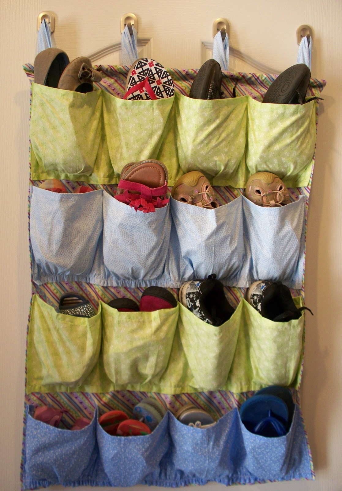 Sew It Yourself Shoe Organizer Adventures Of A Diy Mom