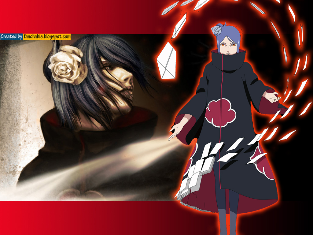 Best Wallpaper: Konan : Akatsuki Best Wallpaper HD
