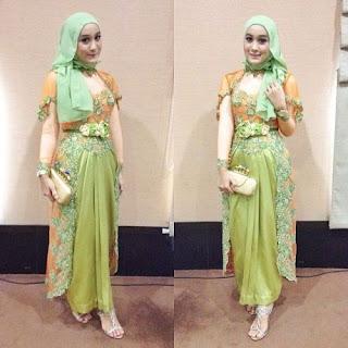 Gaun Kebaya Muslim Remaja