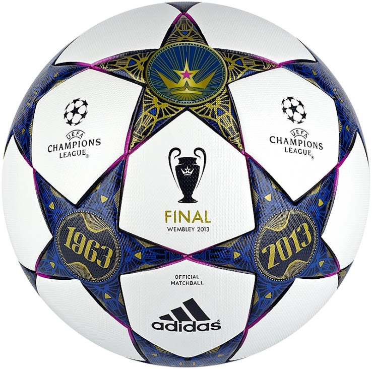 UEFA Champions League 2013 Wembley Final Matchball Leaked ...
