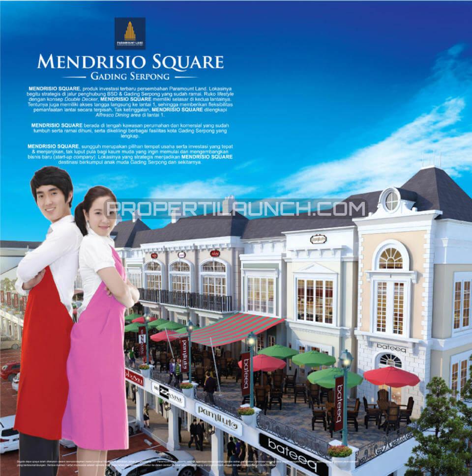 Mendrisio Square Gading Serpong