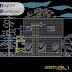 مخطط مسكن عائلي صغير دوبلكس اوتوكاد dwg
