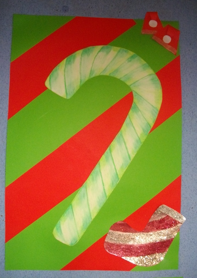 A Faithful Attempt Candy Cane Still Life Drawings