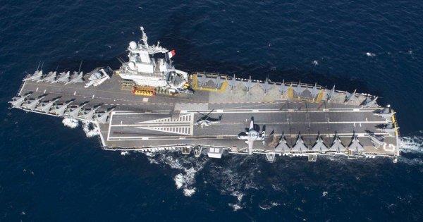 Η Γαλλία στέλνει το πυρηνικό αεροπλανοφόρο Charles de Gaulle απέναντι στις τουρκικές φρεγάτες στην Α.Μεσόγειο