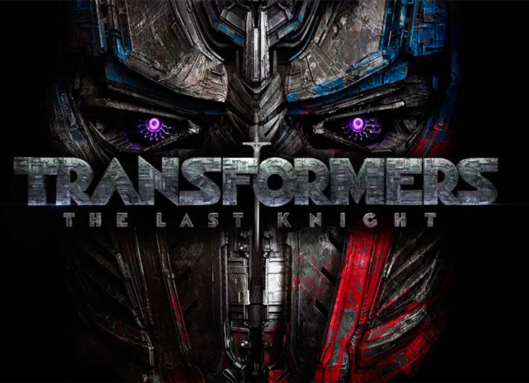 Poster Transformers el último caballero Optimus prime