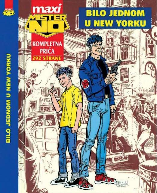 Bilo jednom u New Yorku - MAXI -  Mister No