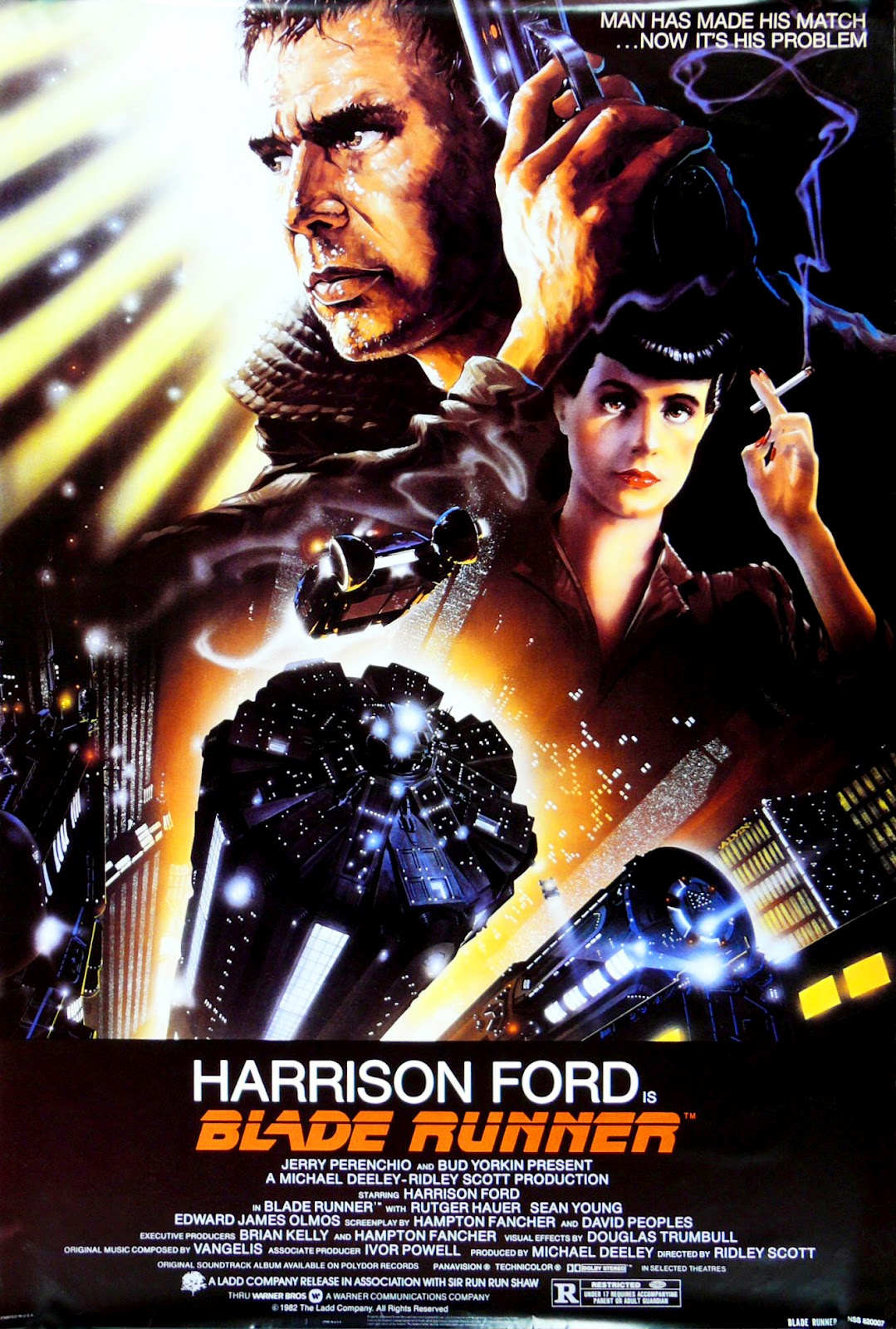 The Geeky Nerfherder: Movie Poster Art: Blade Runner (1982) - photo#15