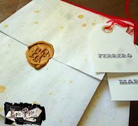 venta carta lacrada con lacre  dorado letra antigua papel envejecido vintage guatemala