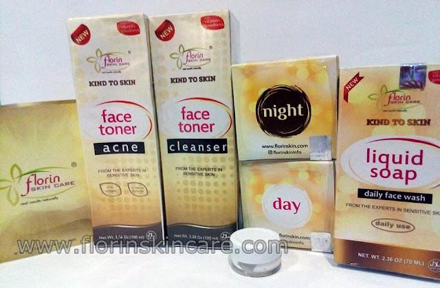 Paket Komplit Cream Florin Skin Care Terbaru 2017