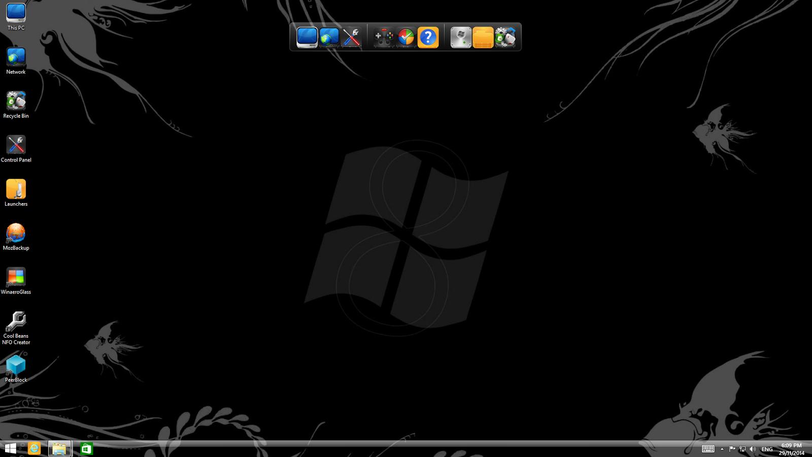 ���� ������ 8.1 ������� Download Windows Black 8.1 Pro x64 auto activation