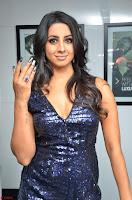 Sanjana looks happy in sparkling short Deep neck Purple Gown ~  Exclusive 38.JPG