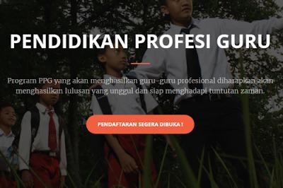Pengumuman Pendaftaran Program Pendidikan Profesi Guru (PPG) Reguler Bersubsidi