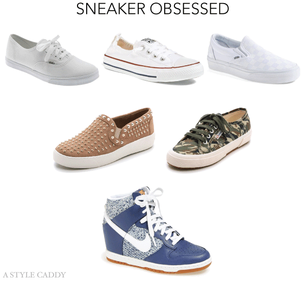 Sneaker Obsessed // A Style Caddy