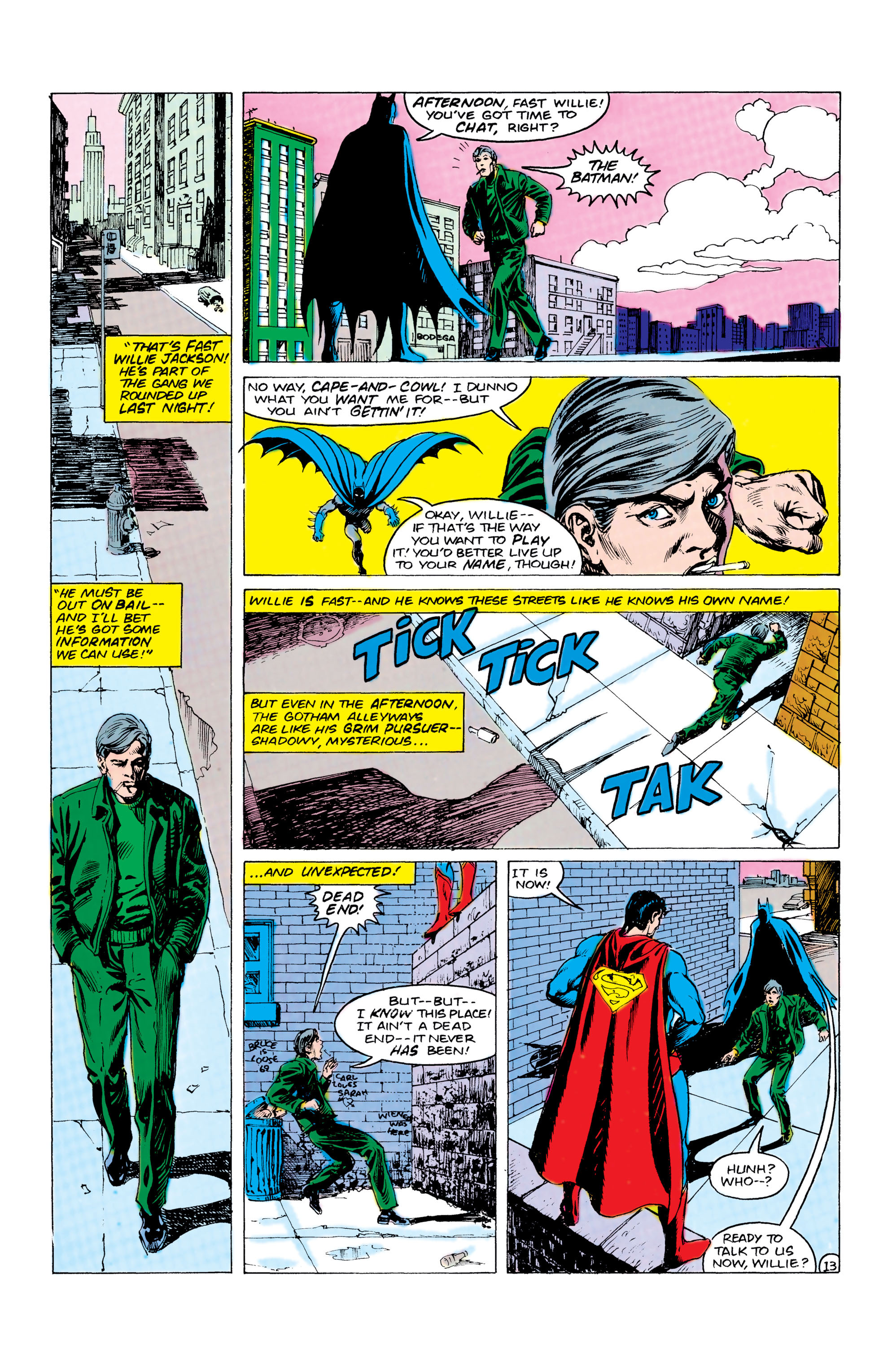 Read online World's Finest Comics comic -  Issue #309 - 14