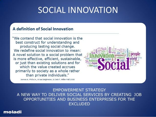 Social Entrepreneur Disruptive Technology