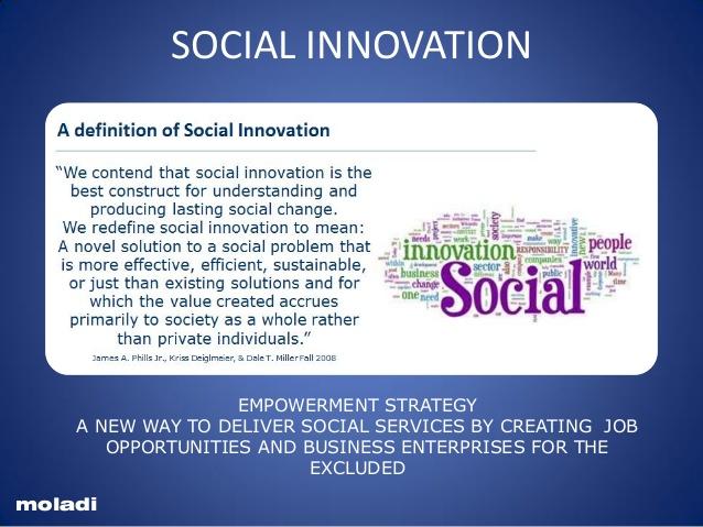 example of social innovation
