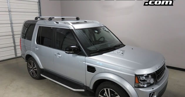 Rack Outfitters: Land Rover LR4 Thule SILVER AeroBlade ...