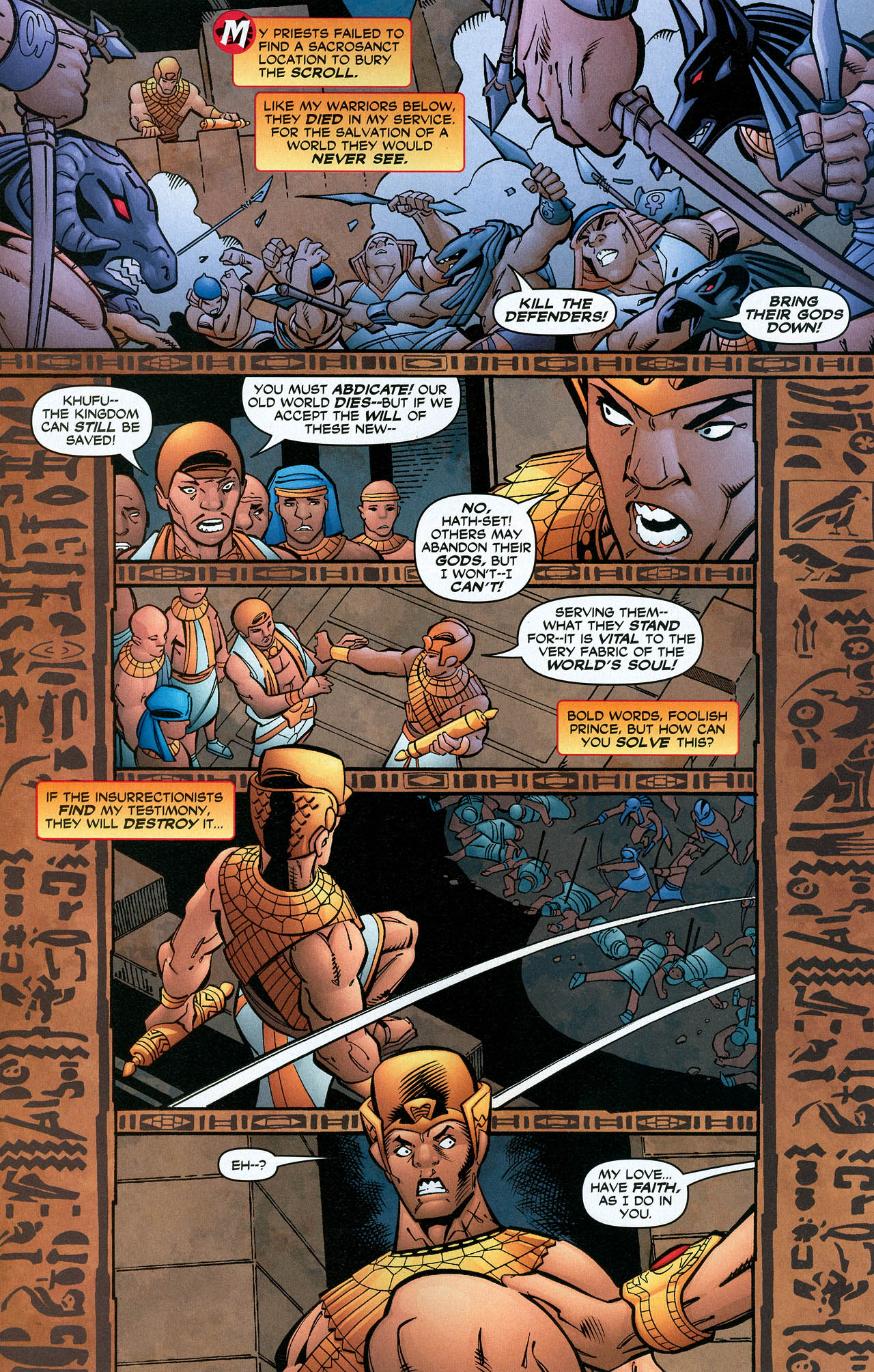 Read online Trinity (2008) comic -  Issue #22 - 14