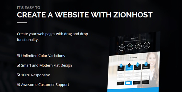Free Download Theme ZionHost v3.3 Dari Themeforest