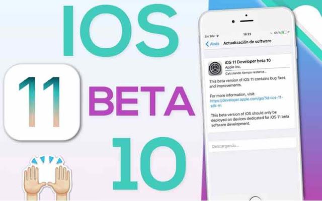 iOS 11 beta 10