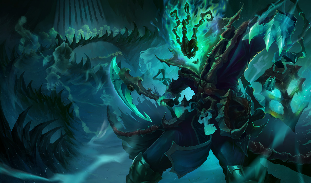 League of Legends: 1/9 PBE Update: Thresh + Aether Wing ...
