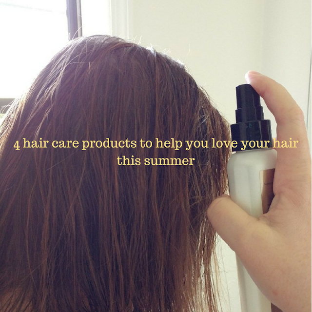 #ad 4 hair care products to help you love your hair this summer