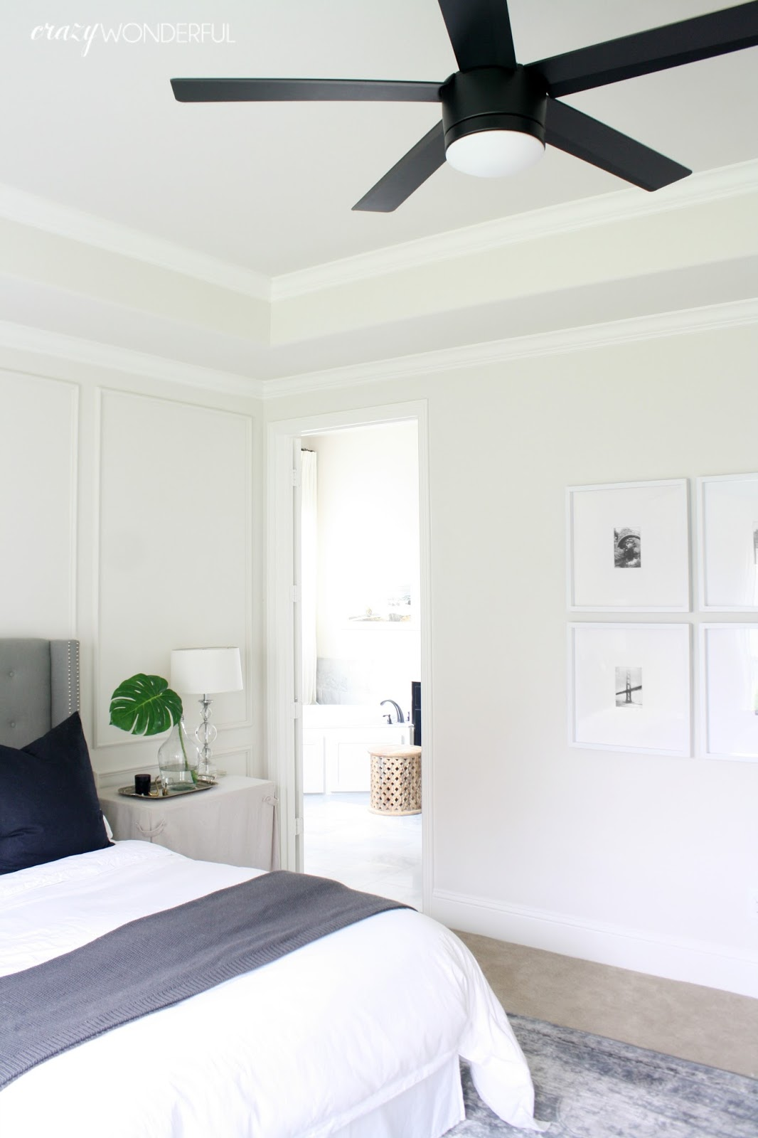ceiling fans for bedrooms. bedroom ceiling fan  Crazy Wonderful