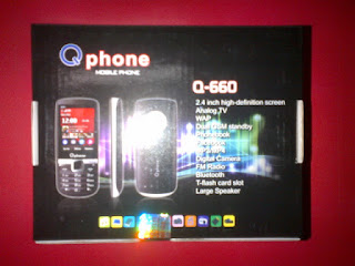 Hape Cina Murah Qphone Q660 Analog TV Dual SIM