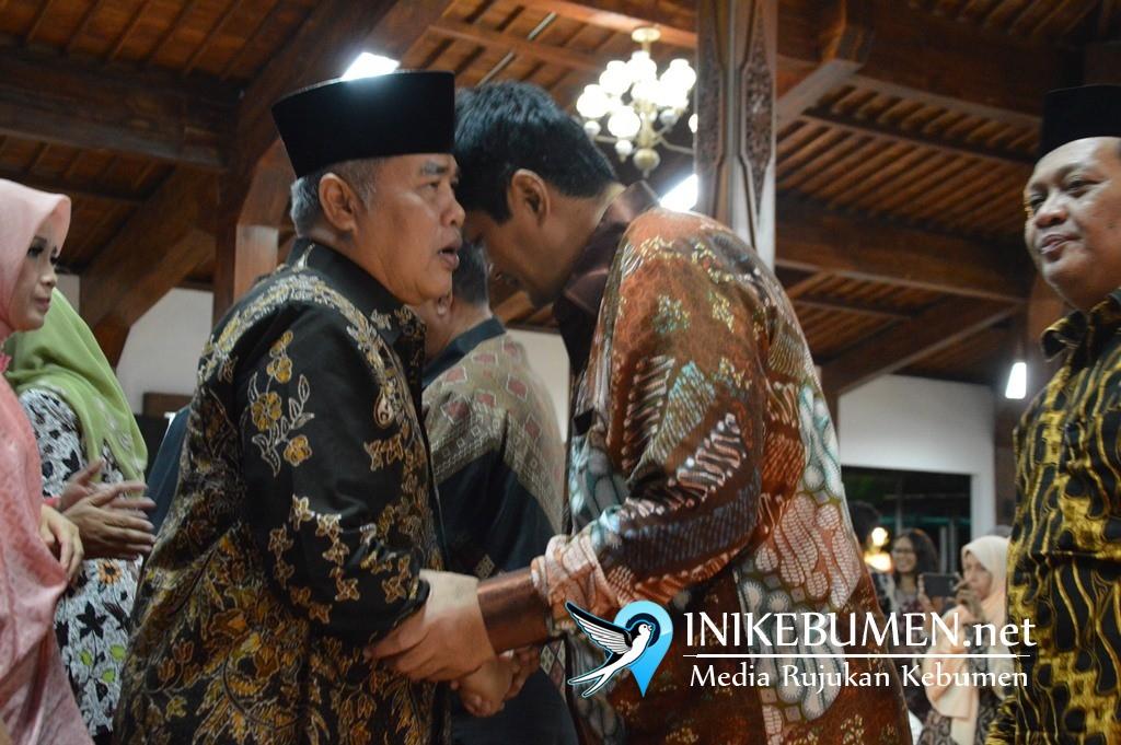 Semua Mantan Bupati Kebumen Diundang, yang Datang Hanya Arief Irwanto