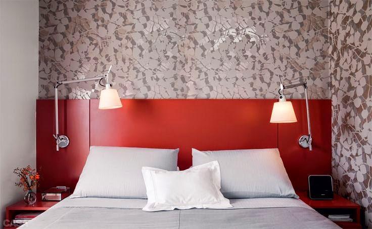 cabeceira-vermelha- cama