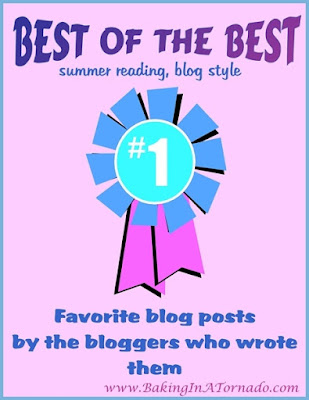 Best of the Best by the Best, a summer reading list, blogging style. Favorite posts as chosen by the bloggers who wrote them | Presented by www.BakingInATornado.com |  #blogging #writers