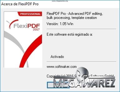 SoftMaker FlexiPDF 2017 Profesional 1.05 imagenes