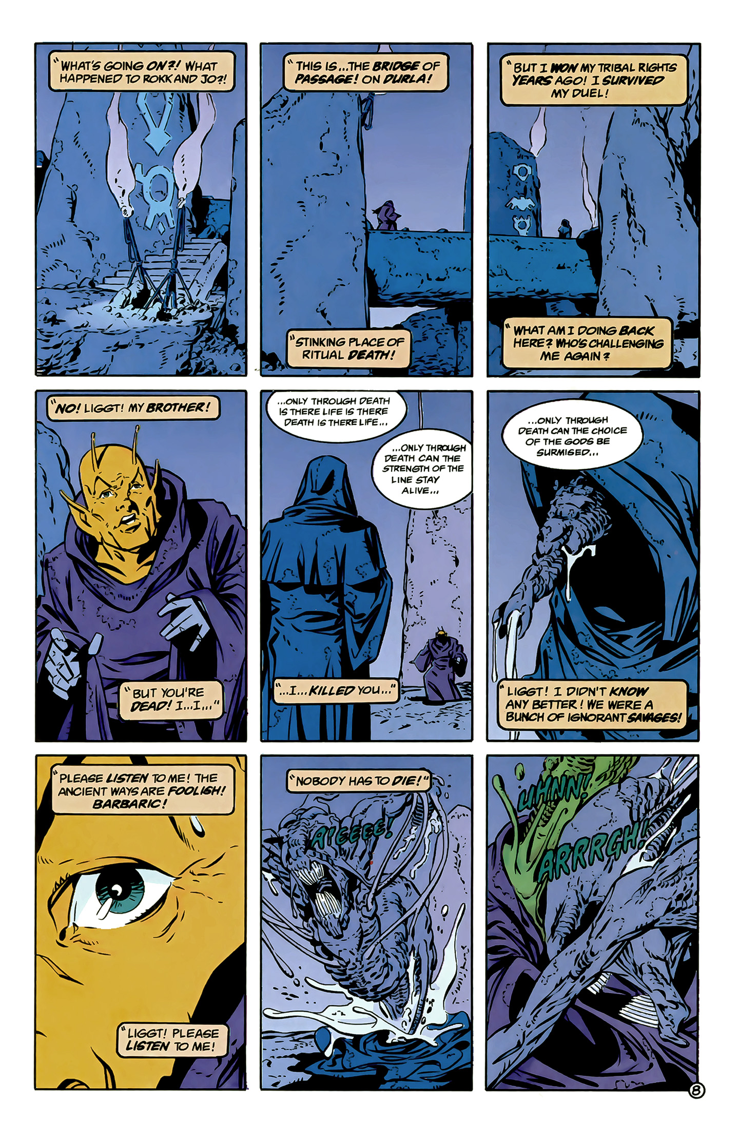 Legion of Super-Heroes (1989) 6 Page 8