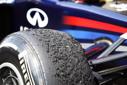 Jenis - Jenis Ban Yang Digunakan Pada Mobil Balap  F1