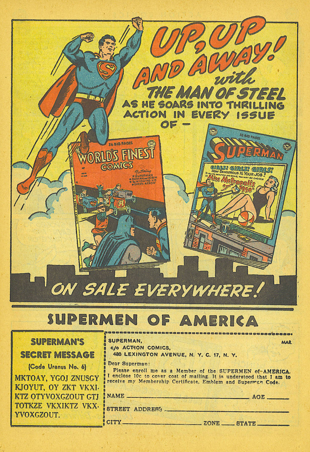 Read online Action Comics (1938) comic -  Issue #142 - 32