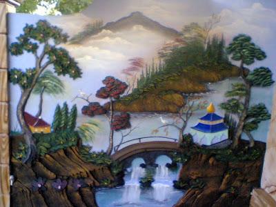 Taman Relief 3D - dekorasi Taman | Jasa Tukang Taman Surabaya XVIII