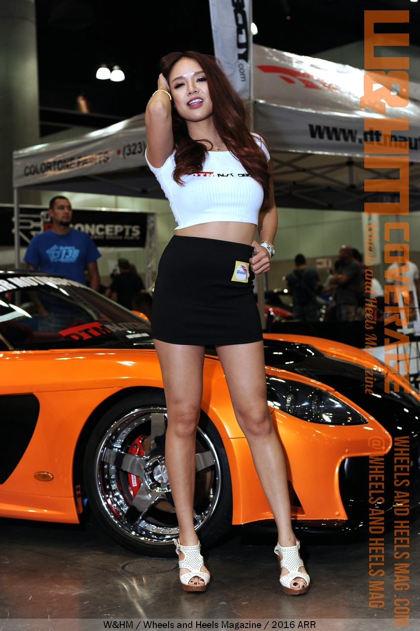 WHM Wheels And Heels Magazine Awesome Autocon LA Car Show - Car show models photos