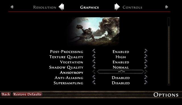 Kingdoms of Amalur için En İyi Grafik Ayarları